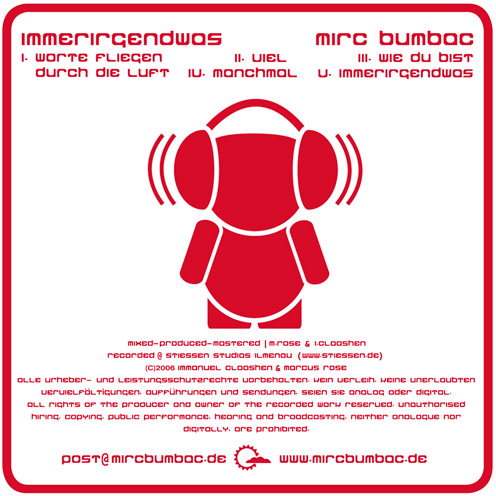 MR CD Demo Cover